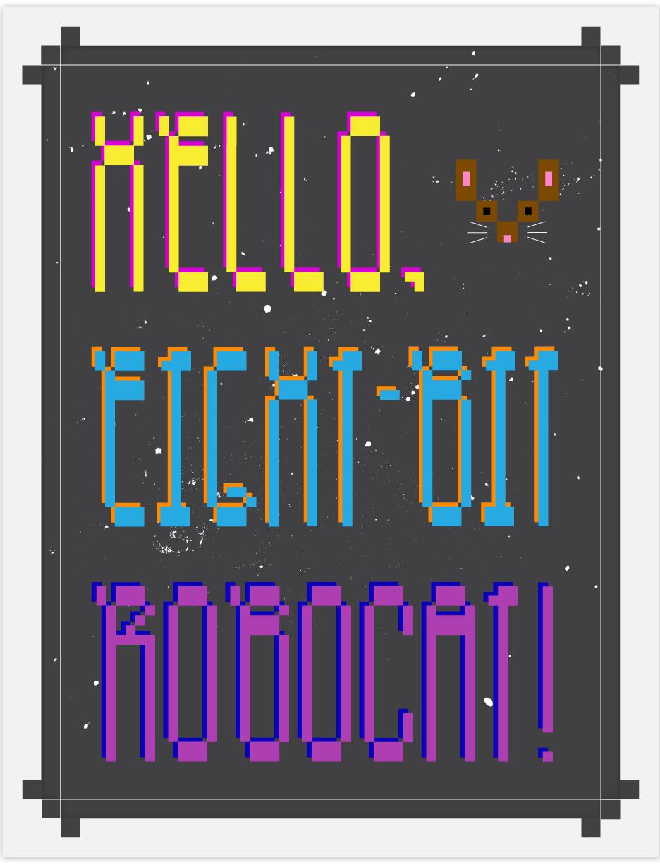roboto poster design